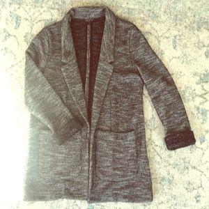 Top shop sweater blazer